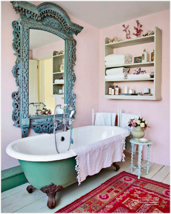dainty bathroom
