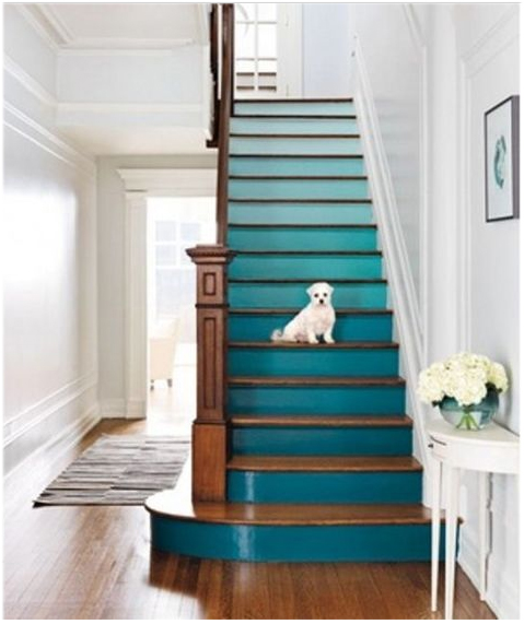 stairs and ombre