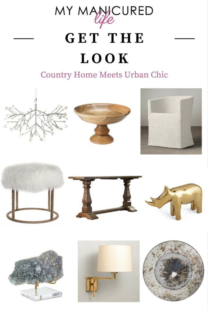 Get The Look - Country Home Meets Urban Chic