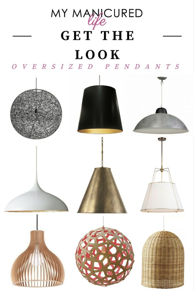 Get The Look - Oversized Pendants