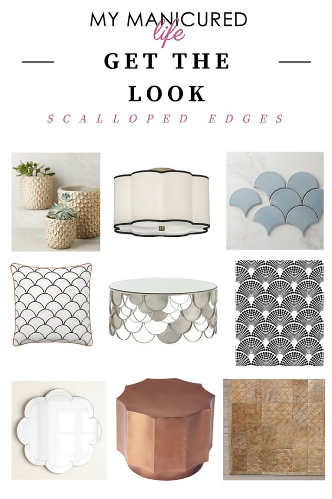 Get The Look - Scalloped